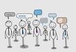 businessman community social network
