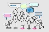 happy family social network