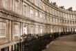 Residential houses in city of Bath, Somerset, UK