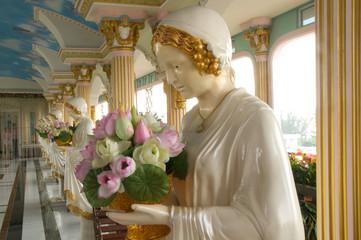 Sculpture of Saint Teresa of Avila