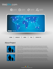 Website modern template