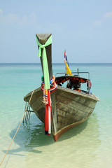 Longtail boat  - Thailnad