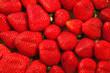Ripe and fresh strawberries background closeup