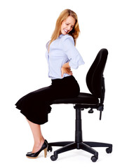 Back pain office chair