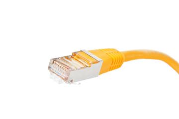 Netzwerkkabel mit Stecker