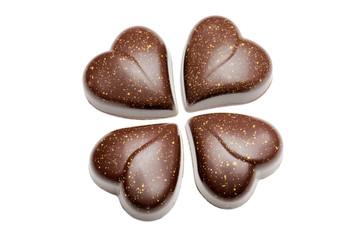 chocolates heart-shaped