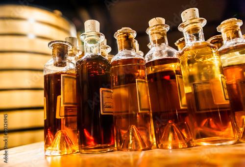 canvas print picture Liqueur pour assemblage du cognac