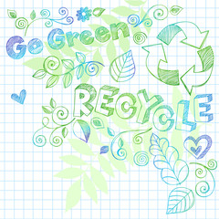 go green recycle sketchy