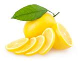 Fototapety sliced lemon