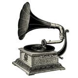 Fototapety Gramophone