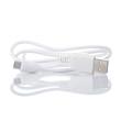 Weiße Datenkebel. Micro USB