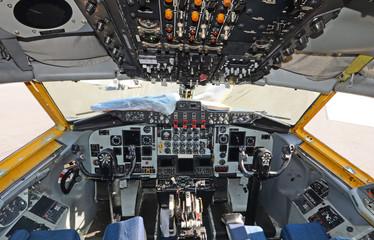 Air tanker cockpit