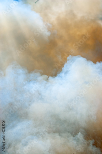 Clouds of smoke