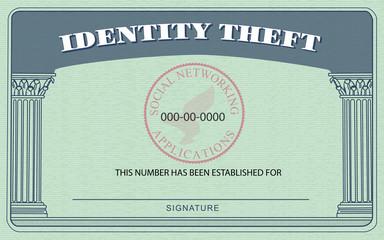 Identity Theft Card