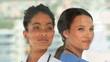 Medical staff posing together