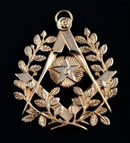 freemasonry golden medal