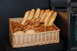 Freshly Baked Bread and Pastries in a Basket.