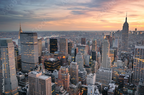 Fototapeten,new york city,new york,manhattan,skyline