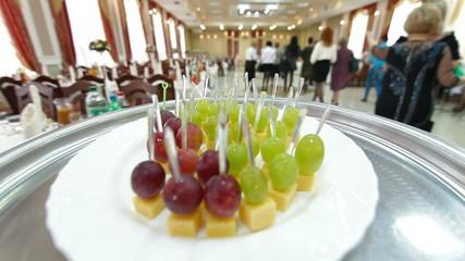 Waiter Serving Reception