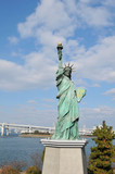 Tokyo, Japan - replica of the famous Statue of Liberty poster