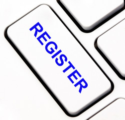 Register button on keyboard