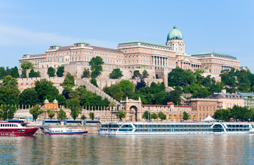 Budapest morning view