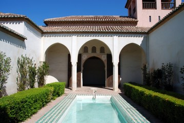 Patio de la Alberca, Nasrid Palace, Malaga © Arena Photo UK