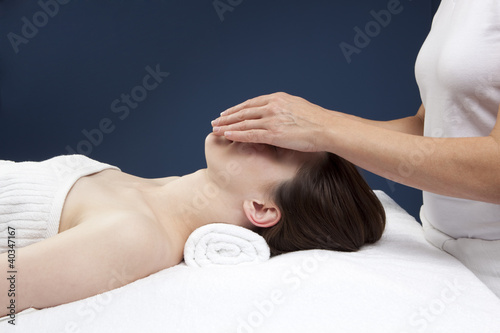 exchange of energy while massaging