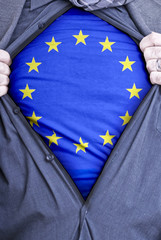 European Union Businessman