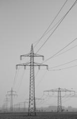 Starkstromleitungen