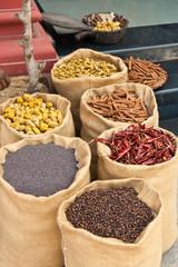 Gewürze in Kerala, Indien, Spices in Kerala, India