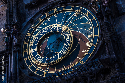 The Prague Astronomical Clock - Prague Orloj, Czech Republic