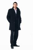 Businessman in the Black Coat.