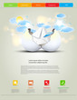 web design template, easy editable