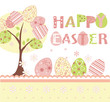 easter background set