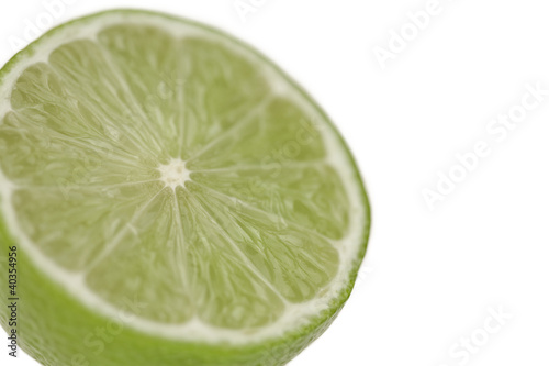 Lemon cut in half, close up