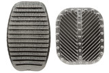 anti slip rubber clutch and brake pedals