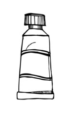 Illustration- Line Bottle