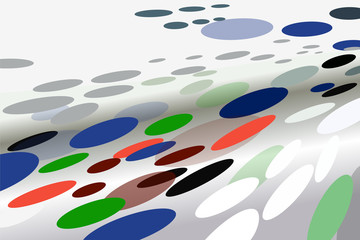 Dynamical background with ovals