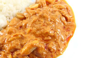Massaman curry tuna