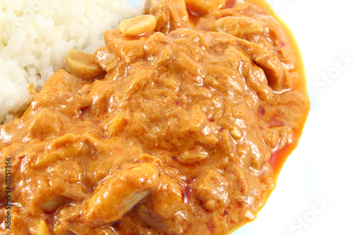 Massaman curry tuna