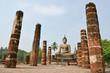 Les ruines de Sukhothaï