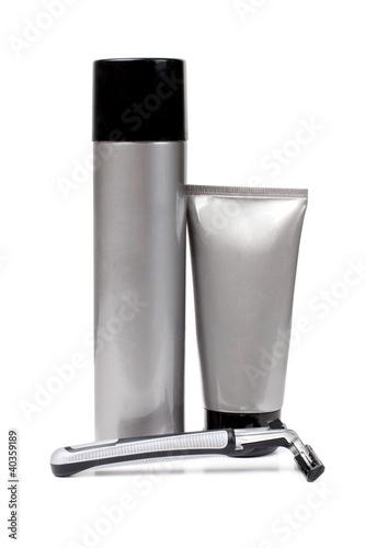 Gray tubes and razor