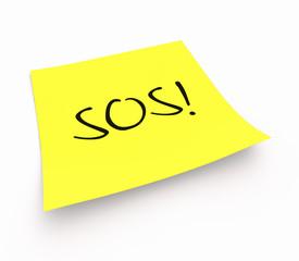 Notizzettel - SOS!