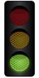 Ampelanlage - grünes Licht