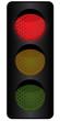 Ampelanlage - rotes Licht
