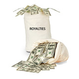 Bag with royalties poster