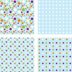 Горошек (Polka-dots) бесшовный