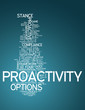 "Word Cloud ""Proactivity"""