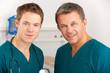 Portrait medical staff on hospital ward